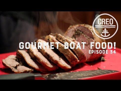 Gourmet Cooking on a Boat! - Ep34