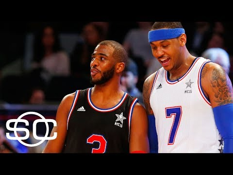 Chris Paul Would Love To Have Carmelo Anthony On Rockets | SportsCenter | ESPN