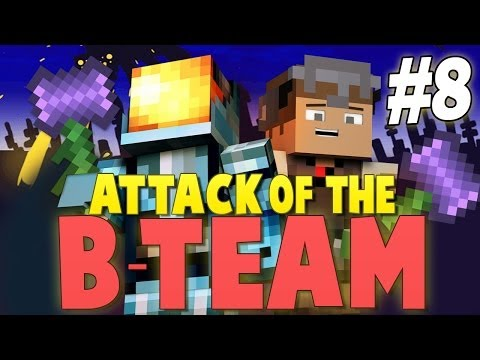 Minecraft Attack of the B-Team #8 | OBSIDIAN DEATH HAMMERS! - Minecraft Mod Pack Survival