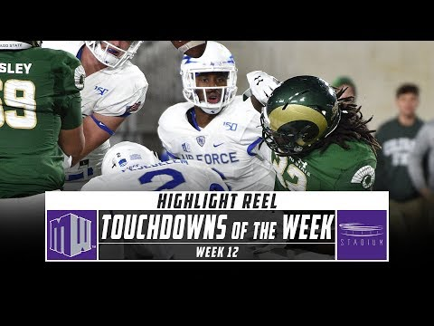 Mountain West Touchdowns of the Week: Week 12 (2019) | Stadium