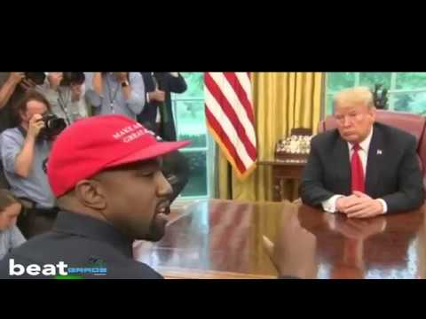 President Trump has lunch with Kanye West & Jim Brown at the White House - Full Video
