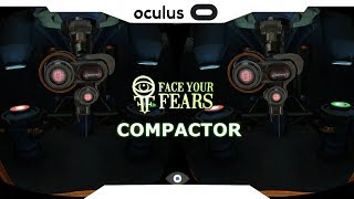 SBS 1080p► Compactor VR • FACE YOUR FEARS • Samsung Gear VR Gameplay 2018