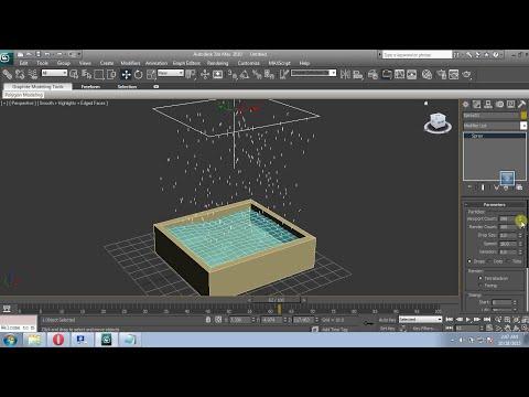 3DS Max Tutorial:Creating Rain