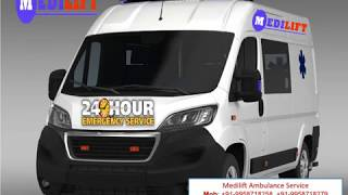 Get Medilift Ambulance in Chanakyapuri and Chattarpur