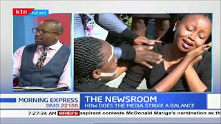 Do you think the move to ban media from covering certain stories is justified? | THE NEWSROOM