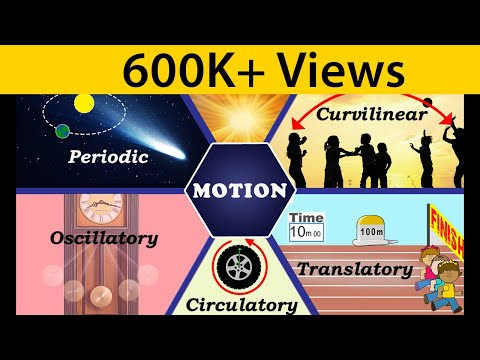 Motion | Types of Motion | Physics | Science | Letstute