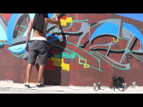 Doke Tatto Street Fest Bratislava (Graffiti video)
