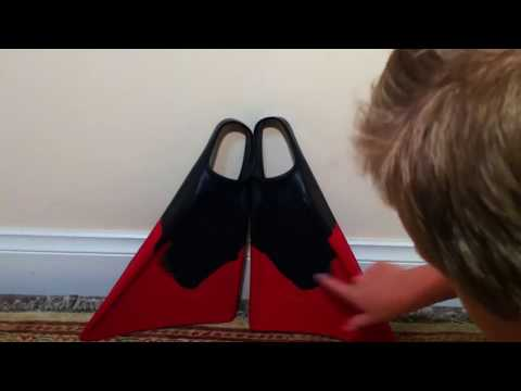 Limited edition fins unboxing