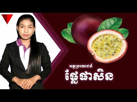 អត្ថប្រយោជន៍នៃផ្លែផាសិន - Passoin Fruit | The Next Cambodia