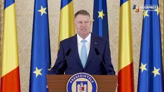 Iohannis către ambasadorii străini: Voi urmări ca România să rămână un vector de stabilitate şi un promotor ferm al democraţie