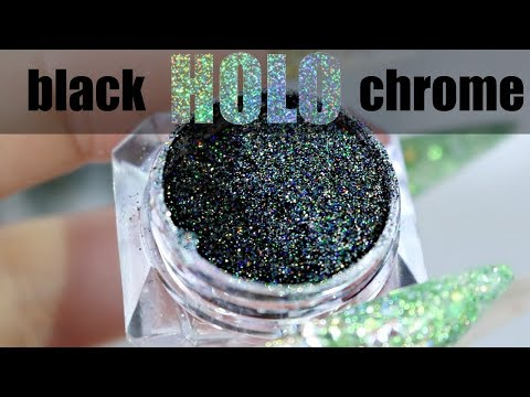 WILDFLOWERS HAUL   REVIEW   3D ACRYLIC   BLACK HOLO
