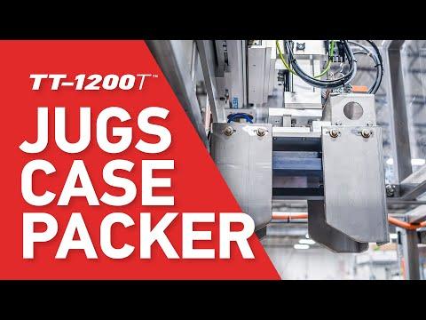 Jugs & Bottles Case Packing Machine Automation - Model TT-1200T