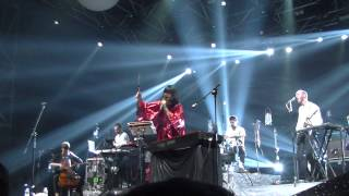 Bat For Lashes - Lilies + What's a Girl to Do? (live) @ Sziget Festival 2013, Budapest, 7.08.2013