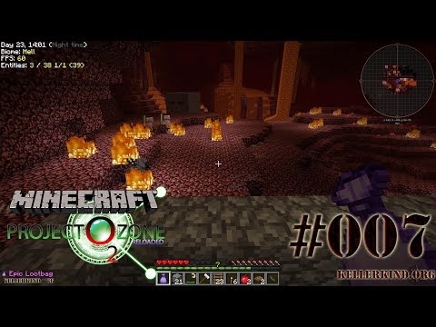 Zurück in den Nether ★ #07 ★ We Play Minecraft Modded Project Ozone 2 Reloaded [HD|60FPS]