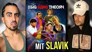 Es gibt RUSSISCHES Big Bang Theory!! | ft. Slavik Junge