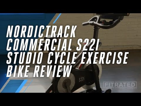 NordicTrack Commercial S22i Studio Cycle Exercise Bike Review