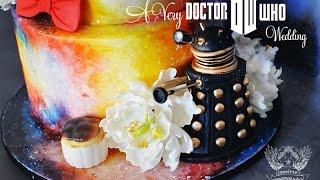 Doctor Who Wedding Cake