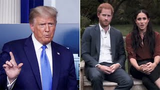 video: Donald Trump says he's 'not a fan' of Meghan Markle after her US election intervention