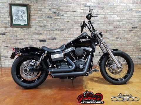 2011 Harley-Davidson Dyna® Street Bob® in Big Bend, Wisconsin - Video 1
