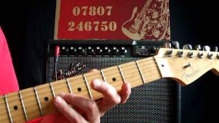 Guitar Lessons Advanced - Night Of The Long Knives