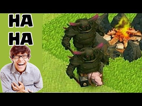 clash of clans funny moments trolls compilation 3 coc montage