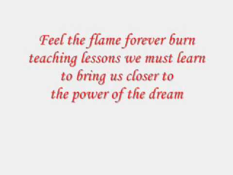 power of the dream lyrics