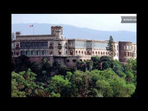 Замок Чапультепек. Мексика.