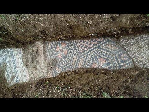 Ιταλία: Στο «φως» ρωμαϊκό μωσαϊκό