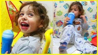 Prens Yankı Hastalandı Onu ziyaret Etmeye Gittik, Odasına Gittik Oynadık l Çocuk Videosu