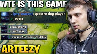 Arteezy the Most Funny and Toxic Game - Trash Talk Rage Buyback GG