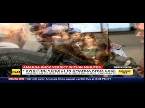 Meg Strickler on HLN discussing Amanda Knox verdict 10/4/11