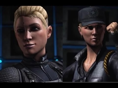 Mortal Kombat X - Daughter vs Mother - Cassie Cage vs Sonya Blade