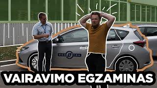 VAIRAVIMO EGZAMINAS