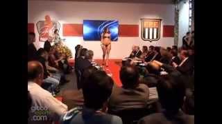 """Premiação Do Concurso """"Gata Do Paulistão 2012"""" (GloboEsporte.Com)"""