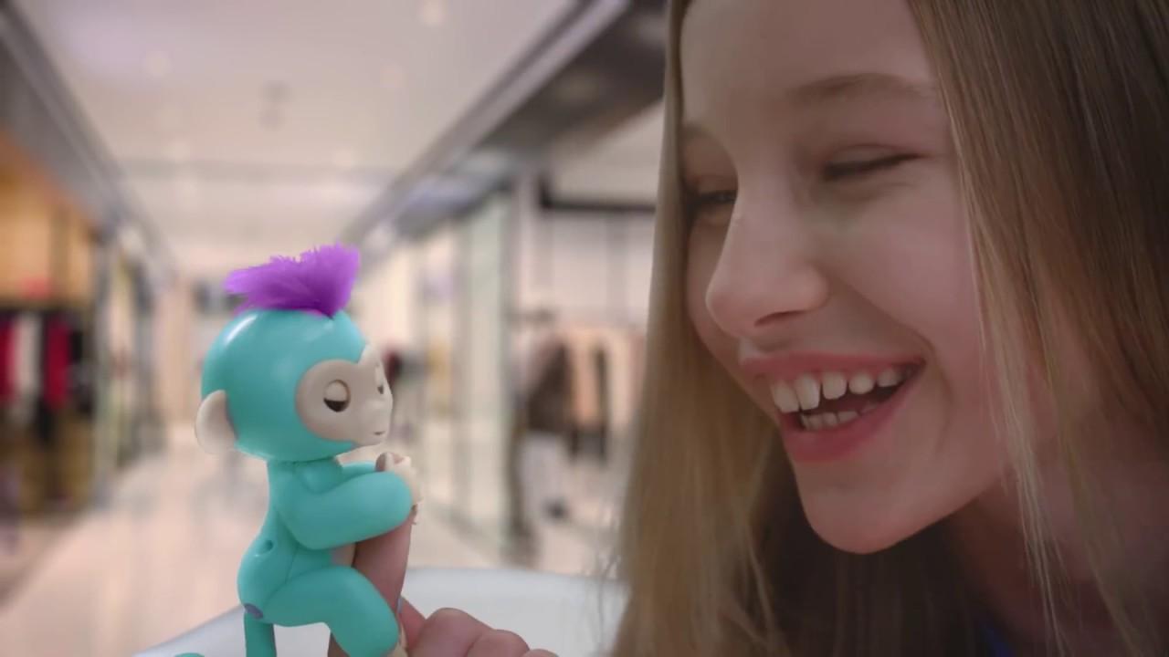 Игрушка интерактивная WowWee Monkey (Pink) video preview