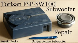 Torisan FSP-SW100 Active Subwoofer Simple Fix / Repair
