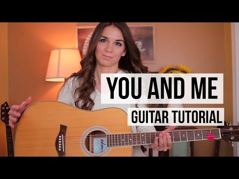 You and Me - Lifehouse // Guitar Tutorial (Chords + Strumming)