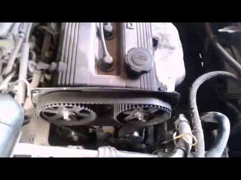 Фото к видео: Замена ГРМ двигателя В5 мазда