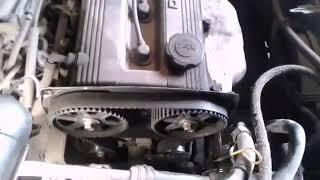 Замена ГРМ двигателя В5 мазда