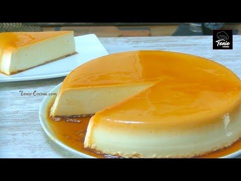 Tarta de QUESO crema | Receta original sin horno