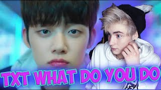 TXT Introduction Film - What do you do? Реакция | BTS | Реакция на TXT What do you do | BTS Реакция