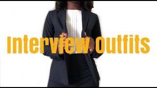 5 Interview Outfits