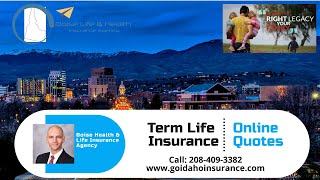 Boise Life Insurance - Term Life Quotes Online - Affordable Term Life Rates - Fast Quotes & Rates