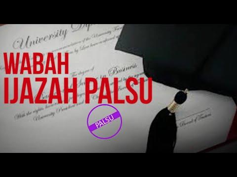 Wabah Ijazah Palsu