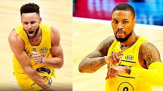Stephen Curry Shocks With Craziest Shots In Team LeBron vs Team Durant! 2021 NBA All-Star Game
