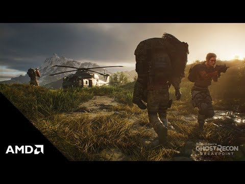 Tom Clancy's Ghost Recon Breakpoint: AMD Features Trailer
