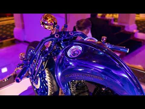 Carl F. Bucherer Harley Davidson Blue Edition