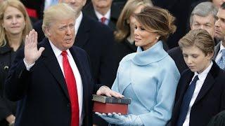 Donald Trump inauguration day – watch live