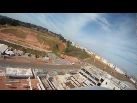 Vôo Incrível em cima da Arena Corinthians em 21/10/2012