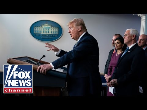 Live: Trump, Coronavirus Task Force hold White House briefing